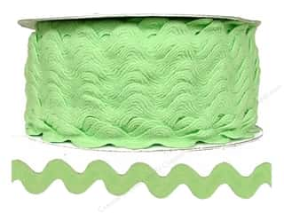 "Cheep Trims Ric Rac 11/16"": Ric Rac by Cheep Trims  11/16 in. Nile Green (24 yards)"