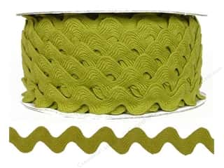"Cheep Trims Ric Rac 11/16"": Ric Rac by Cheep Trims  11/16 in. Chartreuse (24 yards)"