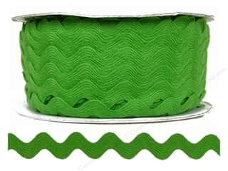 "Cheep Trims Ric Rac 11/16"": Ric Rac by Cheep Trims  11/16 in. Lime (24 yards)"