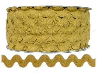 Cheep Trims Gold: Ric Rac by Cheep Trims  11/16 in. Antique Gold (24 yards)
