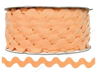 Cheep Trims Think Pink: Ric Rac by Cheep Trims  11/16 in. Peach (24 yards)