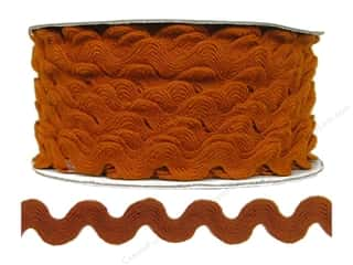 "Cheep Trims Ric Rac 11/16"": Ric Rac by Cheep Trims  11/16 in. Rust (24 yards)"