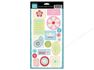Bazzill: Bazzill Stickers Cardstock Divinely Sweet Ticket