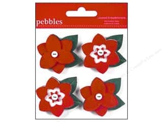 Pebbles Embellishment Welcome Christmas Layered
