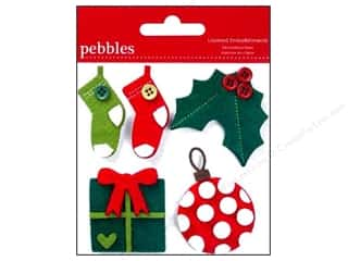 Pebbles Embellishment Welcome Christmas Layered #2