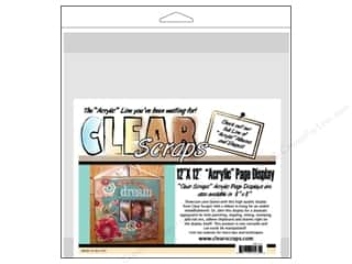 Clear Scraps Page Displayer 12x12