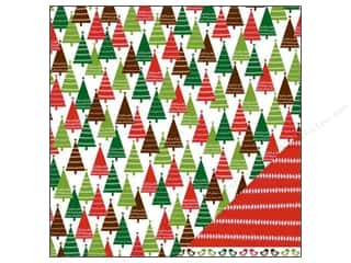 "Pebbles Paper 12""x 12"" Welcome Christmas Trim The Tree (25 sheets)"
