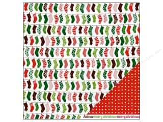 Pebbles Paper 12&quot;x 12&quot; Welcome Christmas Deck The Hall (25 sheets)