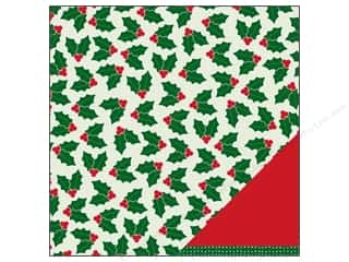 "Pebbles Paper 12""x 12"" Welcome Christmas Holly Jolly (25 sheets)"