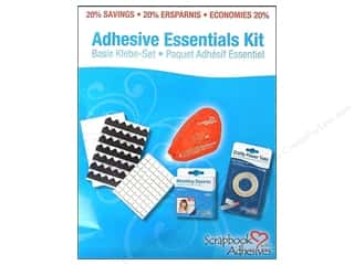 2013 Crafties - Best Adhesive Double-sided Tape: 3L Scrapbook Adhesives Essentials Kit