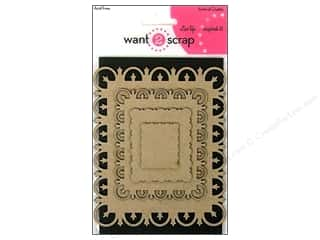 Want2Scrap Nestaboard Spellbinders Rectangle Fleur