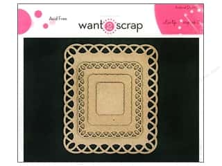 Want2Scrap Nestaboard Spellbinders Rect Lattice