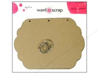 Clearance Want2Scrap Album: Want2Scrap Album Grand Spellbinders Labels Eleven