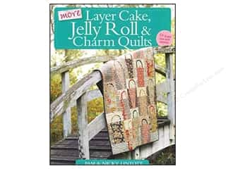 Annies Attic Fat Quarter / Jelly Roll / Charm / Cake Books: David & Charles More Layer Cake Jelly Roll & Charm Quilts Book