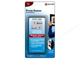 VELCRO Brand Remov Picture Hanger 1lb 20 sets