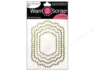 "Stickers 11"": Want2Scrap Sticker Spellbinders Labels 11 Lime"