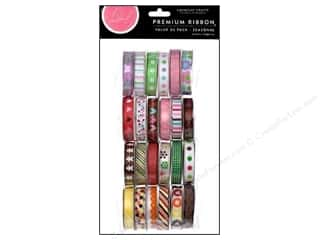 American Crafts Ribbon Value Pack Seasonal 1 24 pc