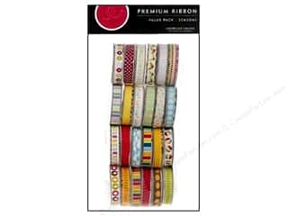 American Crafts Ribbon Value Pack Seasonal 2 24pc