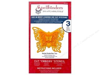 Spellbinders Shapeabilities Die Nested Butterflies Two