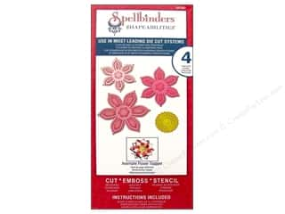 Spellbinders Shapeabilities Die Anemone Flower Topper