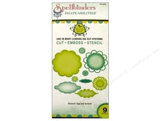 Metal $6 - $9: Spellbinders Shapeabilities Die Blossom Tags and Accents