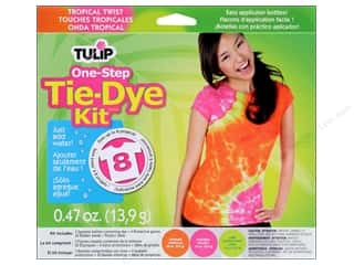 tie dye kit: Tulip Dye Kits One Step Tie Dye Tropical Twist
