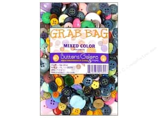 Buttons Novelty Buttons: Buttons Galore Grab Bag 6 oz. Mixed Color