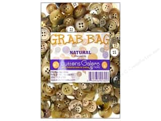 button: Buttons Galore Grab Bag 6 oz. Natural