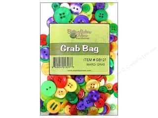 Buttons Galore Grab Bag 6 oz. Mardi Gras