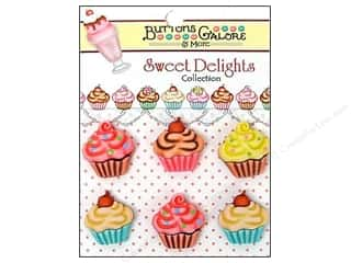 Buttons Galore Sweet Delights Cupcakes