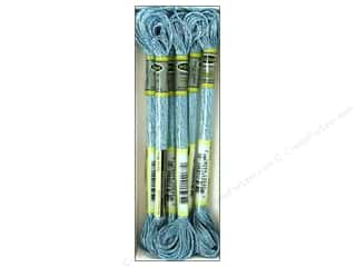 embroidery floss: Sullivans Embroidery Floss 8.7yd Mtlc Azure Blue (6 skeins)
