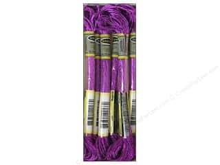 embroidery floss: Sullivans Embroidery Floss 8.7yd Mtlc Magenta (6 skeins)