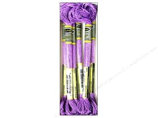 embroidery floss: Sullivans Embroidery Floss 8.7yd Mtlc Lilac (6 skeins)