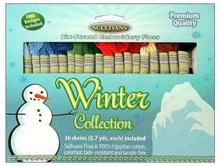 2013 Crafties - Best Adhesive: Sullivans Embroidery Floss Pack 36 Skeins Winter