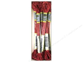 Sullivans Embroidery Floss 8.7yd Mtlc Wine (6 skeins)