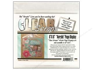 Clear Scraps Page Displayer 8&quot;x 8&quot;