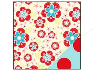 Bazzill cardstock 12x12: Bazzill 12 x 12 in. Paper Divinely Sweet Sweet Daisy Cream/ Red Dot 25 pc.