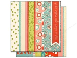 Bazzill 12 x 12 in. Paper Divinely Sweet Borders 25 pc.