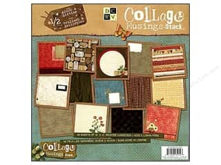 Die Cuts Paper Stack 12 x 12 in. Collage Musings