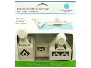 Martha Stewart Punch Around The Page Set Star Burst