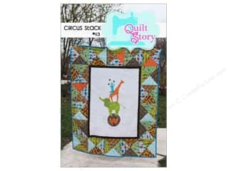 Simple Stories Animals: Quilt Story Circus Stack Pattern