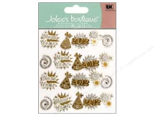 Clearance Blumenthal Favorite Findings: Jolee's Boutique Stickers Repeats Happy New Year Words