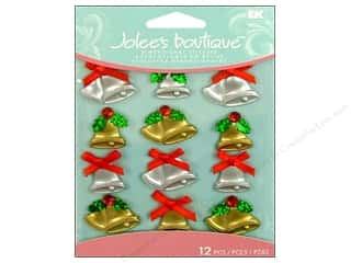 Jolee's Boutique Cabochons Christmas Bells