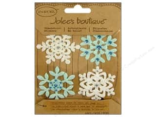 EK Success Dimensional Stickers: Jolee's Boutique Stickers Parcel Felt Fun Snowflakes