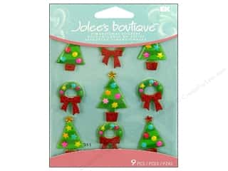 Jolee's Boutique Cabochons Christmas Trees
