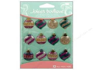 Jolee's Boutique Cabochons Christmas Ornaments