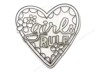 Kelly&#39;s Suncatchers Girls Rule (3 pieces)