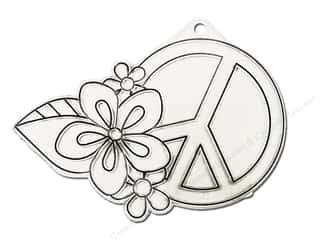 Kelly's Suncatchers Peace Flower (3 pieces)