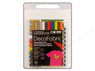 Uchida DecoFabric Paint Pen Opaque Marker VP 12pc