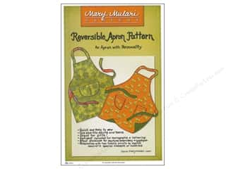 Mary's Productions Sewing Construction: Mary Mulari Reversible Apron Pattern